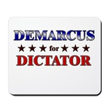 DEMARCUS for dictator Mousepad