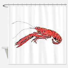 Louisian Crawfish Mudbug Crayfish Shower Curtain