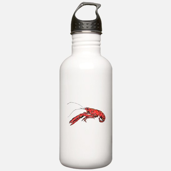 Louisian Crawfish Mudbug Crayfish Water Bottle