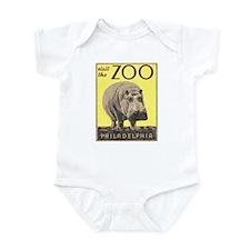 Vintage Philadelphia Zoo Infant Bodysuit