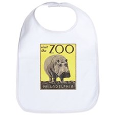 Vintage Philadelphia Zoo Bib