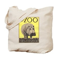 Vintage Philadelphia Zoo Tote Bag