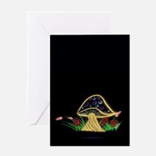 Peace Shroom Greeting Card
