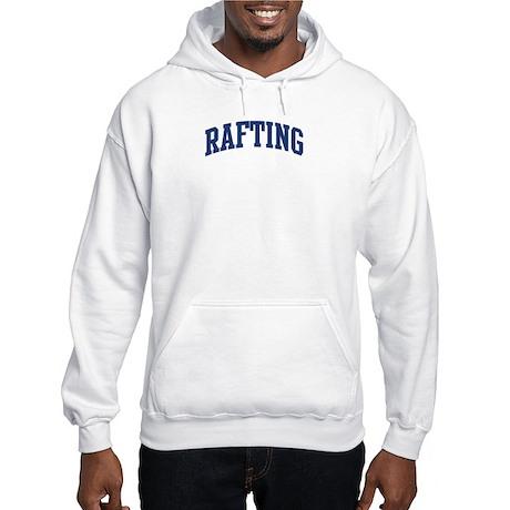 Rafting (blue curve) Hooded Sweatshirt