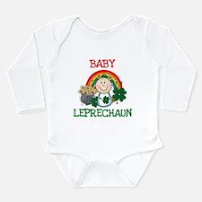 St. Pat's Baby Leprechaun Body Suit