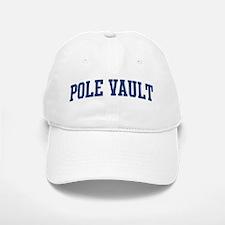 Pole Vault (blue curve) Baseball Baseball Cap