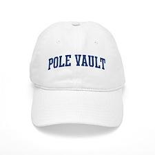 Pole Vault (blue curve) Baseball Cap