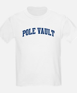 Pole Vault (blue curve) T-Shirt