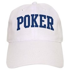 Poker (blue curve) Baseball Cap