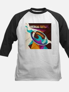 American Football Sport Ball Abstr Baseball Jersey