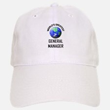 World's Greatest GENERAL MANAGER Baseball Baseball Cap