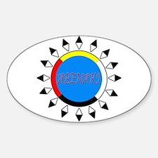 Abenaki Sticker (Oval)