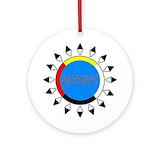 Abenaki Round Ornaments