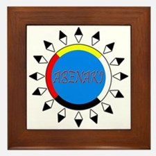 Abenaki Framed Tile