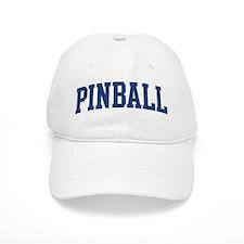Pinball (blue curve) Baseball Cap