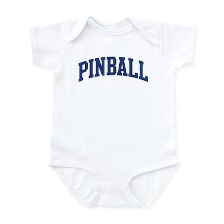 Pinball (blue curve) Infant Bodysuit
