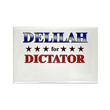 DELILAH for dictator Rectangle Magnet