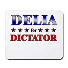 DELIA for dictator Mousepad
