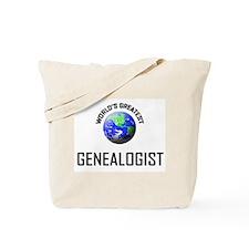 World's Greatest GENEALOGIST Tote Bag