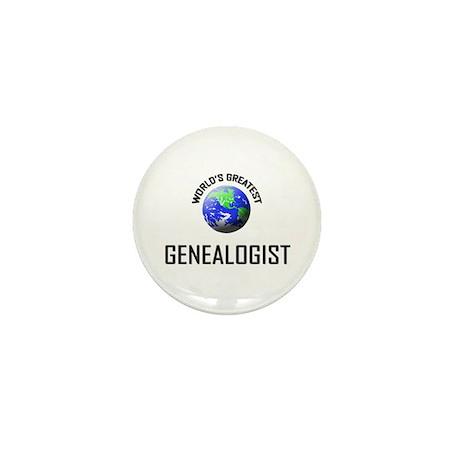 World's Greatest GENEALOGIST Mini Button