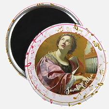 Saint Cecilia Magnets