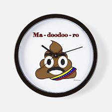 Ma-doo doo- ro Wall Clock