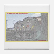 The Pennsy Lives On ! Tile Coaster