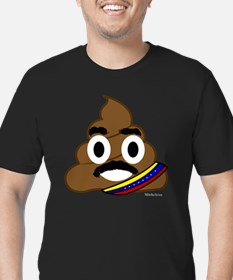 Unique Venezuelan Men's Fitted T-Shirt (dark)