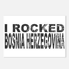 I Rocked Bosnia Herzegovina Postcards (Package of