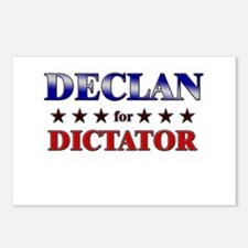 DECLAN for dictator Postcards (Package of 8)