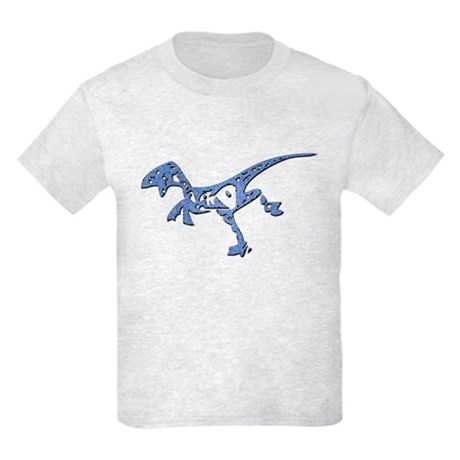 Tribal Running Raptor Kids Light T-Shirt