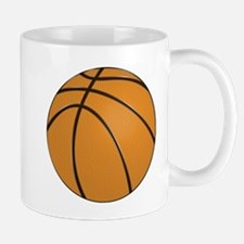 Traditional Orange Basketball Design Mugs