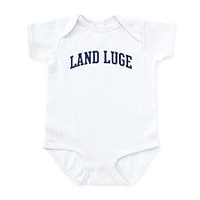 Land Luge (blue curve) Infant Bodysuit