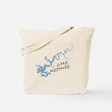 Lake Wedowee Alabama Tote Bag