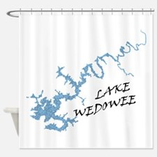 Lake Wedowee Alabama Shower Curtain