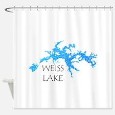 Weiss Lake Shower Curtain