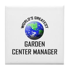 World's Greatest GARBOLOGIST Tile Coaster