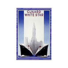 Cunard White Star Vintage Magnet