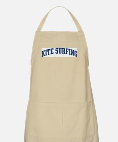 Kite Surfing (blue curve) BBQ Apron