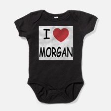 Cute Morgan silver dollar Baby Bodysuit