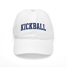Kickball (blue curve) Baseball Cap