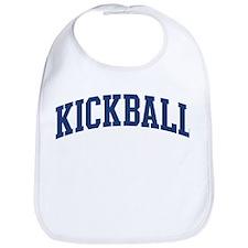 Kickball (blue curve) Bib