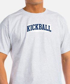 Kickball (blue curve) T-Shirt