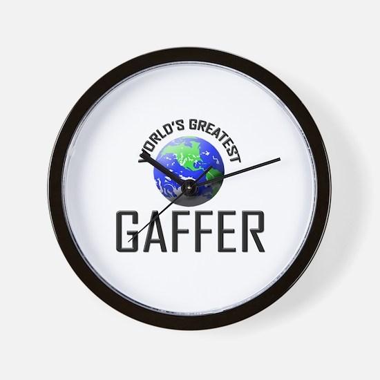 World's Greatest GAFFER Wall Clock