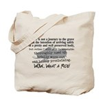 Journey to the Grave Tote Bag