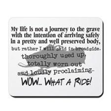 Journey to the Grave Mousepad