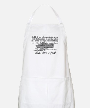Journey to the Grave BBQ Apron