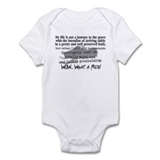 Journey to the Grave Infant Bodysuit