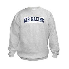 Air Racing (blue curve) Sweatshirt