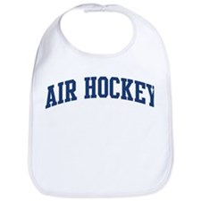Air Hockey (blue curve) Bib